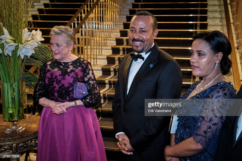 Arrivals At Nobel Peace Prize Banquet 2019 : News Photo