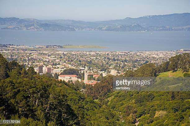 Berkeley CA: View from East Bay Hills
