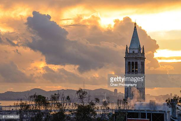 Berkeley Campanile and Storm Clearing