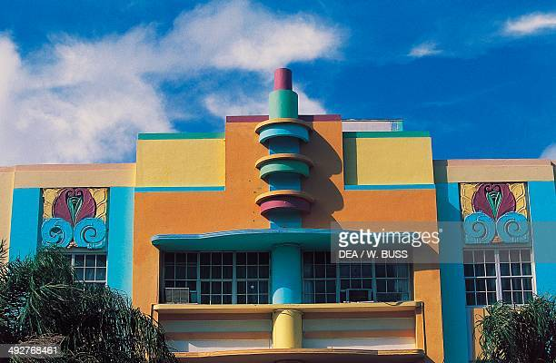 Berkeley Shore Hotel in the Art Deco Historic District Ocean Drive South Beach Miami Beach Florida United States of America