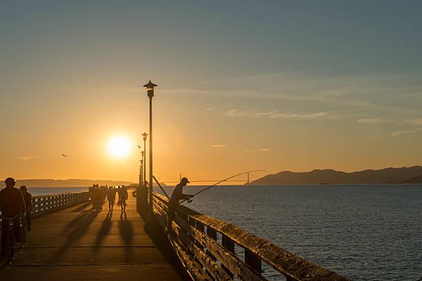 Berkley marina pier