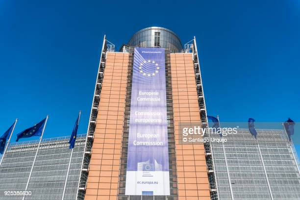 Berlaymont building of the European Commission