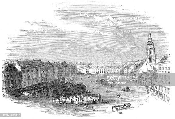 Berlin, 1844. 'Accounts have been received from Berlin, of a general strike among workmen in the extensive calico-printing works of that city,...