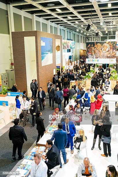 itb berlin 2016 - tradeshow stock pictures, royalty-free photos & images
