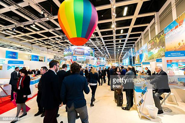 itb berlin 2016 - kiosk stock pictures, royalty-free photos & images