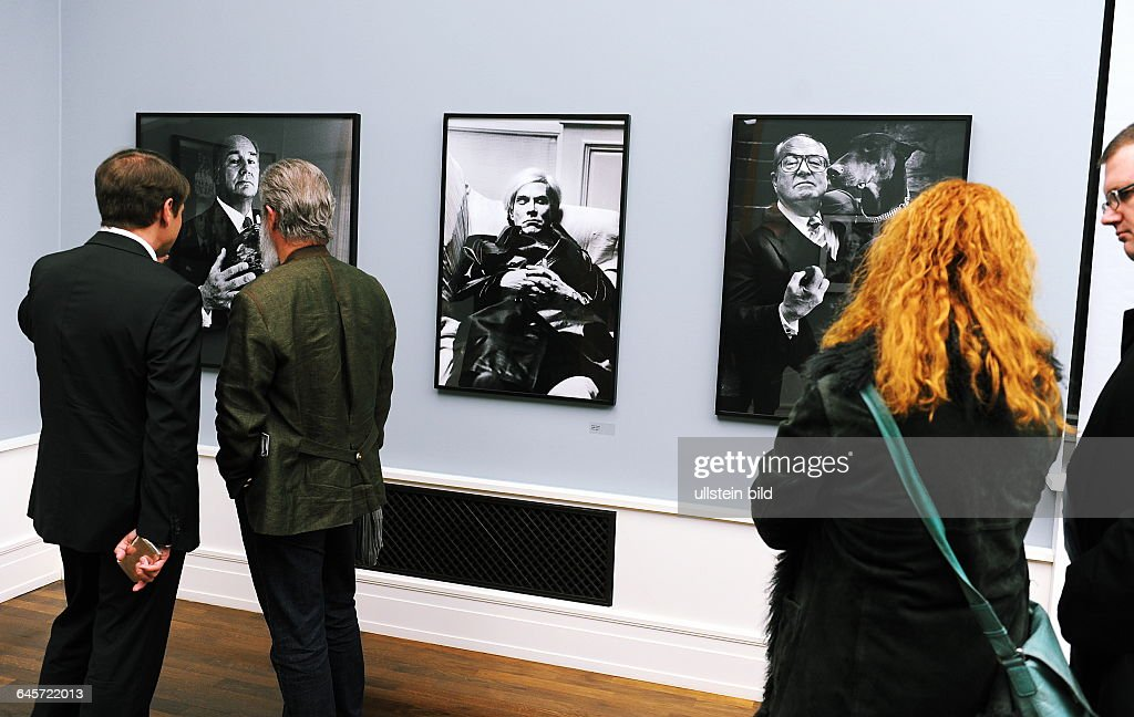Berlin, Eröffnung der Ausstellung Helmut Newton Paris
