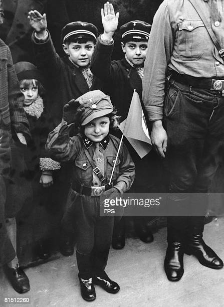 Children are given a day off school to celebrate the success of the Nazi Party in the elections of 6th March The National Socialists polled 439% of...