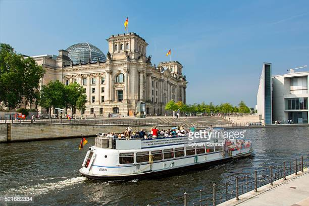 Berlin, A tour boat on the Spree River