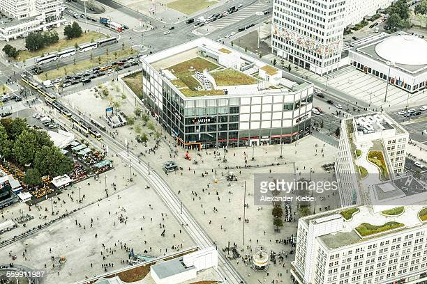 Berlin Alexanderplatz from above