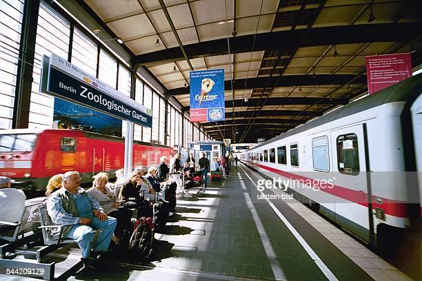 Bahnhof Zoologischer Garten Bahnsteig