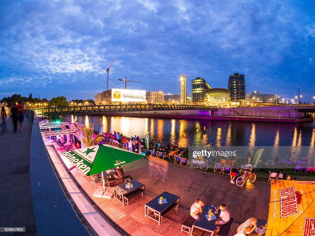 Berlin Beach Bar In Germany High Res Stock Photo Getty Images