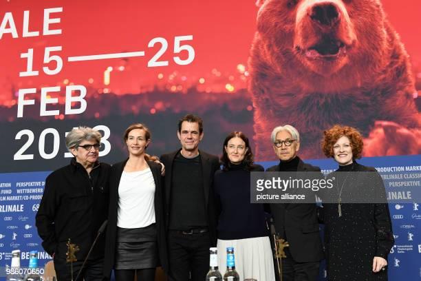 Berlinale Fototermin Internationale Jury photographer Espanola Chema Prado actress Cecile de France film director and jury chairman Tom Tykwer...