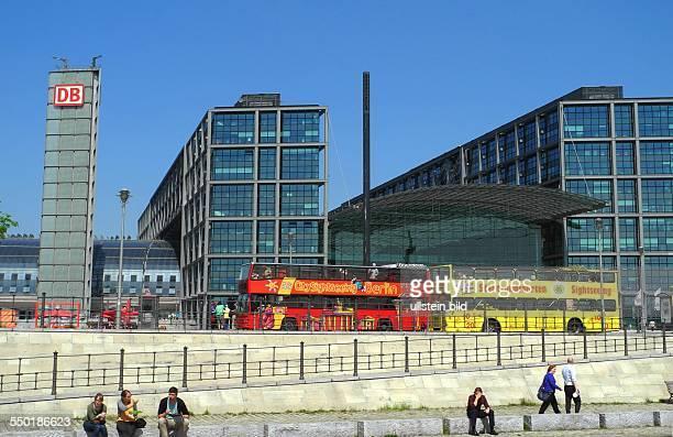 Berlin Berliner Hauptbahnhof am Washingtonplatz