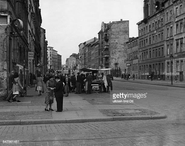 Berlin Bernauer Strasse 1949