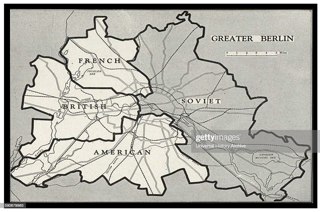 Berlin blockade map pictures getty images berlin blockade map 1948 the berlin blockade 1 april 1948 12 may 1949 gumiabroncs Images
