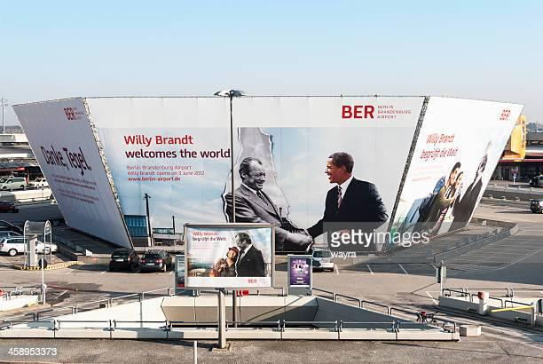 flughafen berlin brandenburg - flughafen berlin brandenburg stock-fotos und bilder