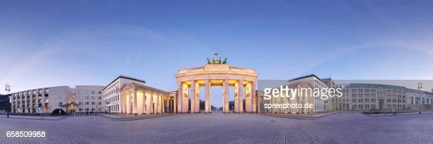 Berlin Brandenburg Gate Panorama
