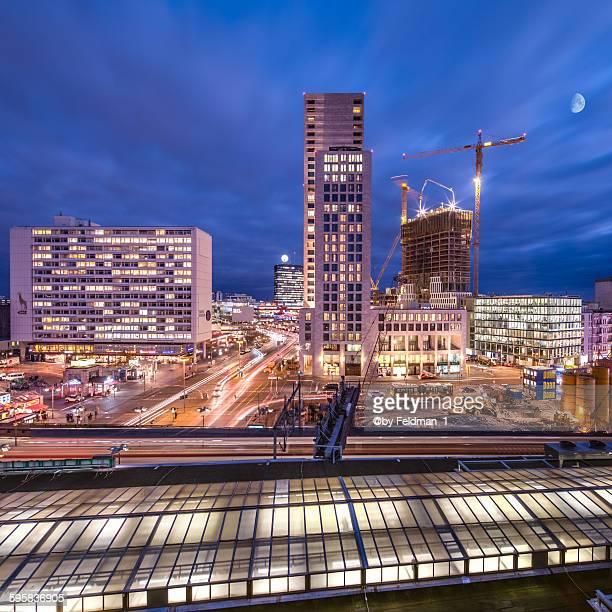 Berlin Building Skyline