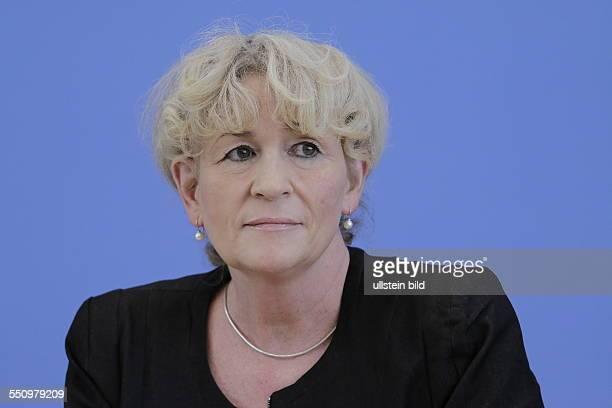 Berlin, Bundespressekonferenz, Thema:Zur Lage der Natur, Foto:Prof. Beate Jessel, Präsidentin des Bundesamtes für Naturschutz