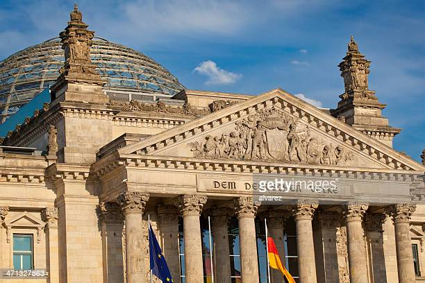 berlin bundestag - bundestag stock photos and pictures
