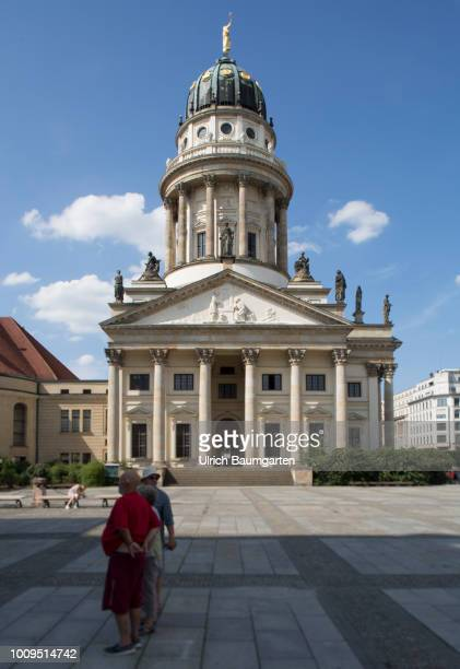 Berlin capital of the Federal Republic of Germany Exterior view Franzoesischer Dom at the Gendarmenmarkt in Berlin
