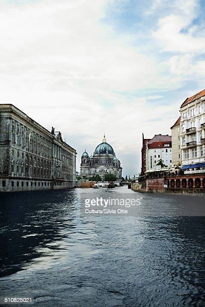 Berlin Cathedral and River Spree, Berlin, Germany