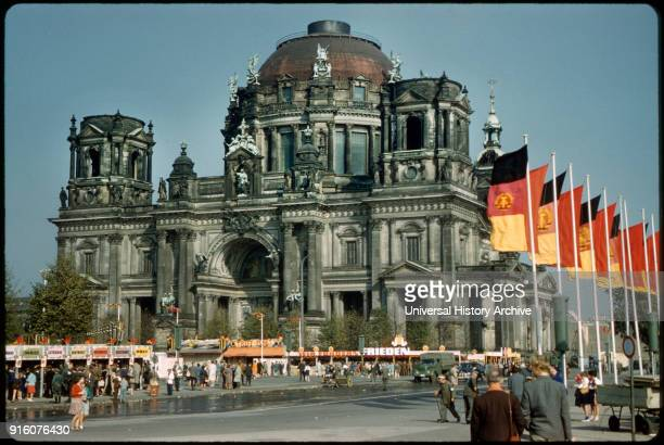 Berlin Cathedral Berliner Dom East Berlin German Democratic Republic 1961