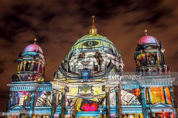Berlin Cathedral - Berliner Dom illuminated