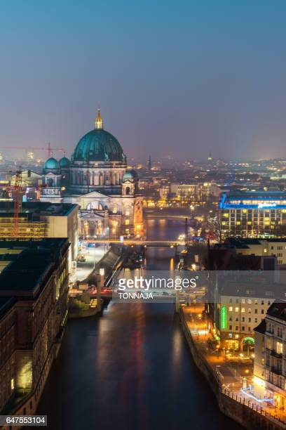 Berlin Cathedral Church beside Spree River