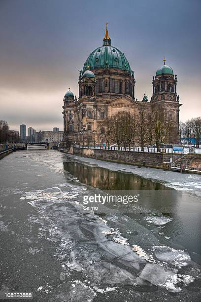 Berlin Cathedral (Berliner Dom), HDR im winter
