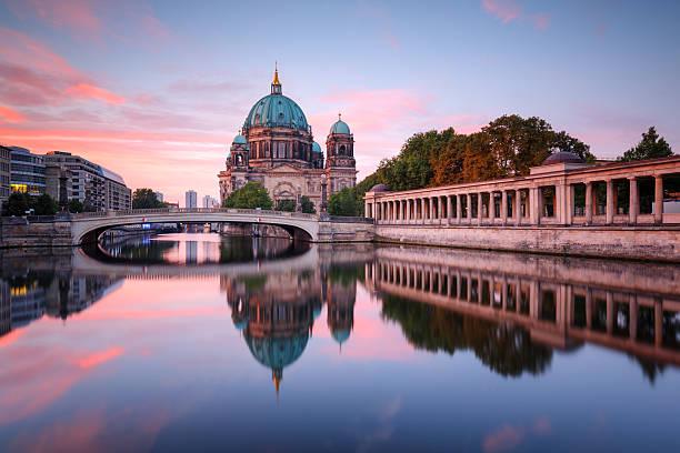 Berlin Cathedral With Friedrichsbridge Wall Art