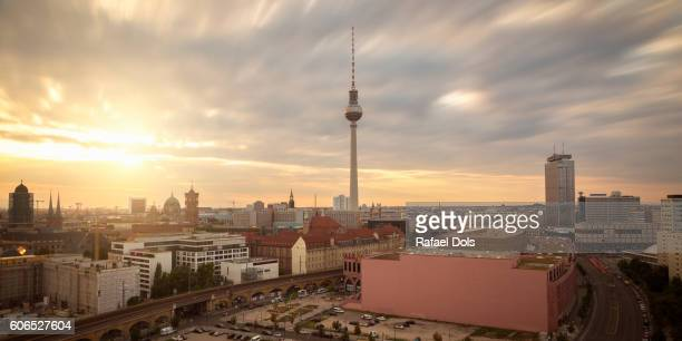 Berlin city - panoramic view
