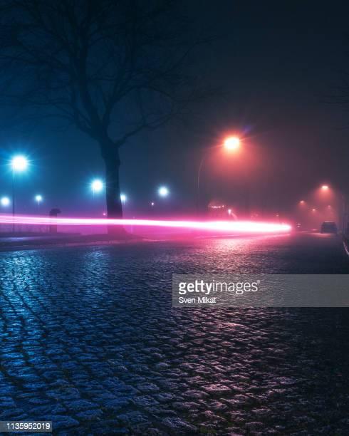 berlin city view at night - エウロパ ストックフォトと画像
