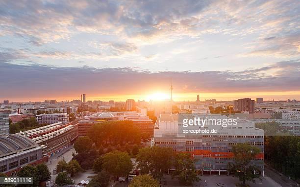Berlin cityscape summer