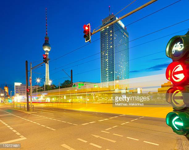Berlin Cityscape Traffic Lights