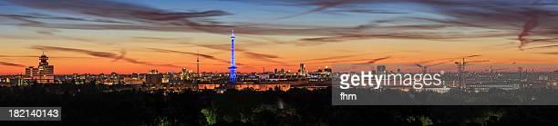 Berlin dawn