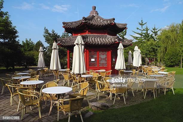 Berlin Die Gaerten der Welt in Marzahn hier im Chinesischen Garten
