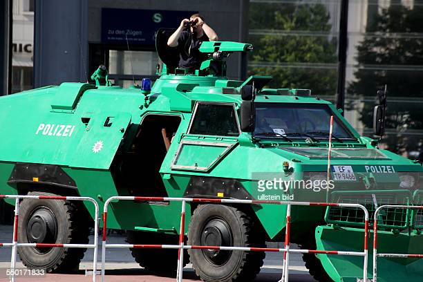 Die Hauptstadt während des Besuchs des amerikanischen Präsidenten Barack Obama Mit immensen Sicherheitsvorkehrungen und einem bis ins letzte Detail...