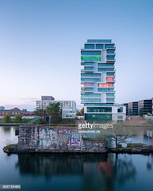 Berlin East side gallery riverside