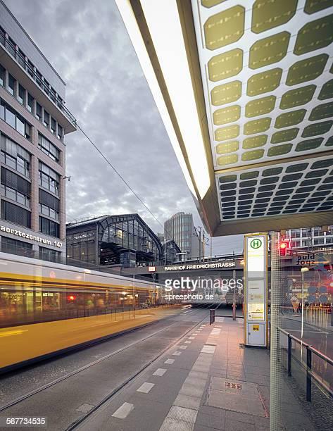Berlin Friedrichstrasse tram station