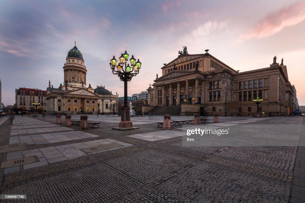 Berlin Gendarmenmarkt (Berlin, Germany) : Foto de stock