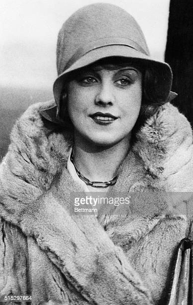 1931 Berlin Germany Anny Ondra German film star who it is rumored will marry Max Schmeling German boxer who rested the world's heavyweight...