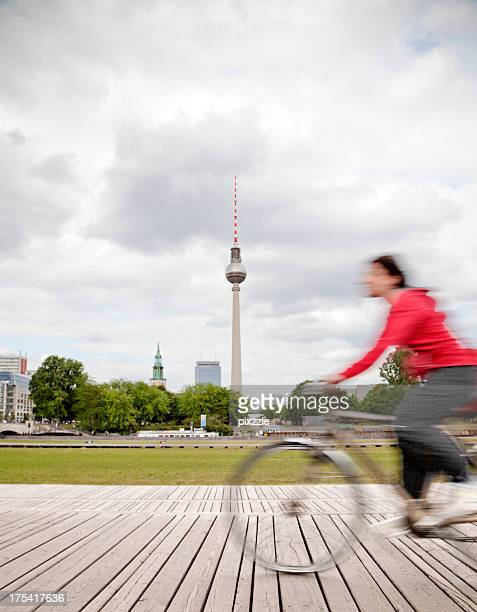 Berlin Germany bicycle city tower