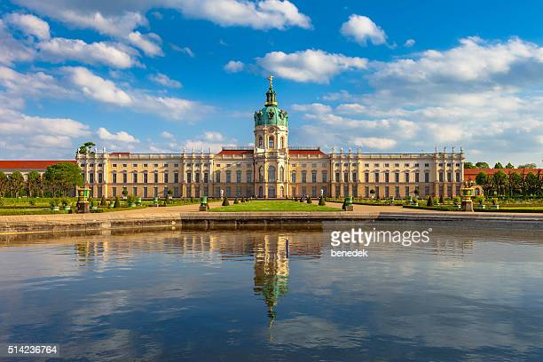 berlin germany charlottenburg palace garden - charlottenburg palace stock pictures, royalty-free photos & images