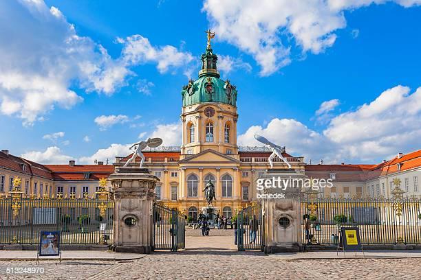 berlin germany charlottenburg palace - charlottenburg palace stock pictures, royalty-free photos & images