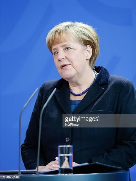 Berlin Germany December 06th 2013 Statement of Angela Merkel German Chancellor to the death of Nelson Mandela / Picture Angela Merkel German...