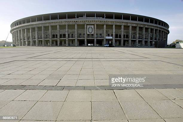 FILES View of Berlin's Olympic Stadium taken 09 November 2005 The stadium specially built for the 1936 Olympic Games was renovated at a cost of over...