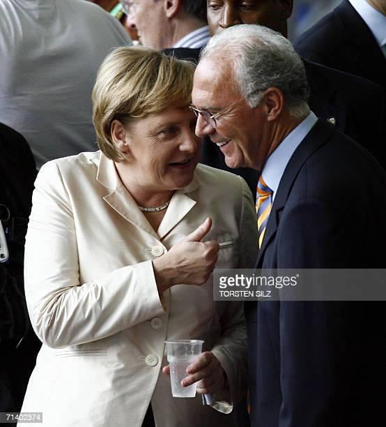 Αποτέλεσμα εικόνας για Franz Beckenbauer merkel