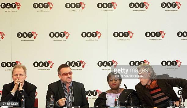 German pop star Herbert Groenemeyer Irish pop band U2 frontman Bono former Nigerian finance minister Ngozi OkonjoIweala and political activist Bob...