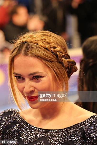 Berlin Germany March 27 2014 Actress Laura Osswald attends at the lila carpet at the Echo Awards 2014